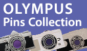 OLYMPUS Pins Collection