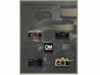 OLYMPUS Pins Collection OM